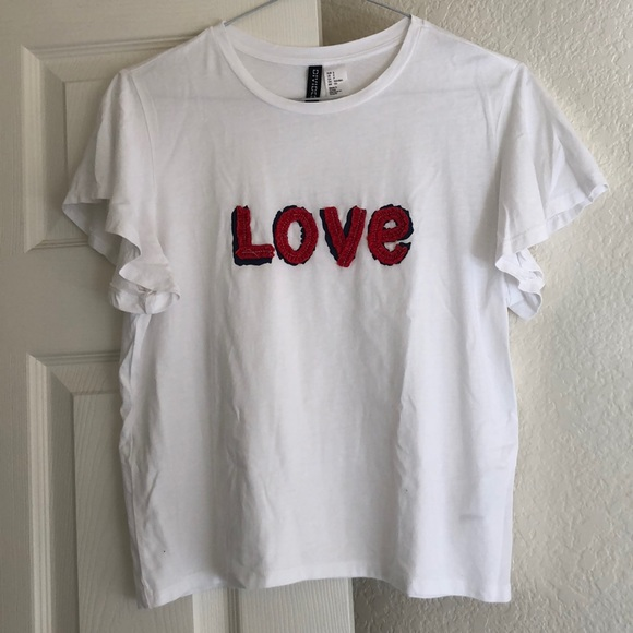 Divided Tops - Love tee